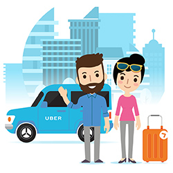 Honza a Uber