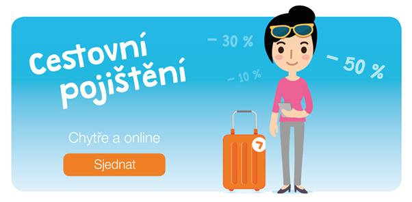 Cestovní pojištění rychle a online